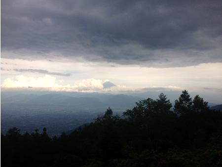 甘利山から臨む富士