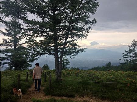 甘利山へお散歩