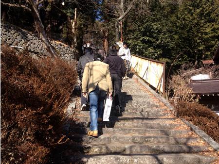 2014金櫻神社へ初詣