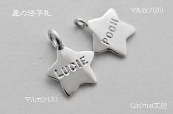 ルーシーちゃん♪星迷子札